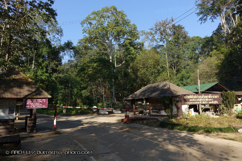 National Park Check Point Near Chiang Dao Cave