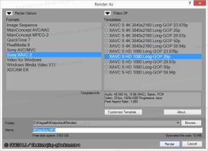 sonymsp13 output